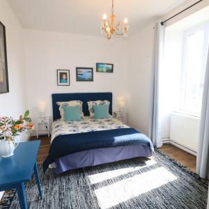 Chambre Emilienne, lit 160 x 200, vue sur cour.